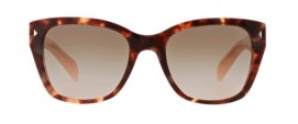 Prada SPR 09S UE0-4K0 Spotted Brown Pink/Pink Gradient Grey