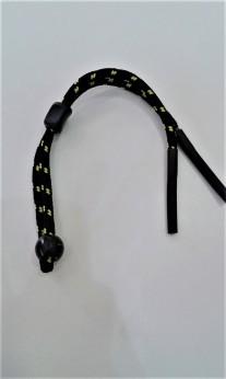 Cordón deportivo amarillo ajustable