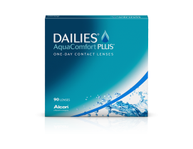 Dailies AquaComfort Plus (90 unidades)