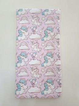 Estuche Fleje Unicornio rosa