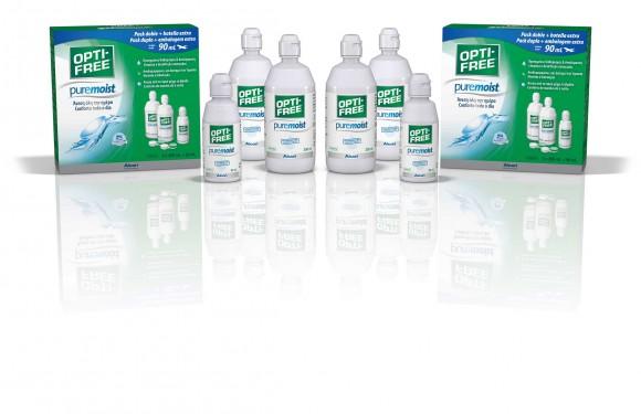 Opti Free PureMoist Bipack (2x300 ml + 1x90ml)